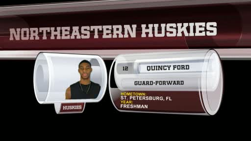 Quincy Ford - 2011-12 Men's Basketball - Northeastern ...